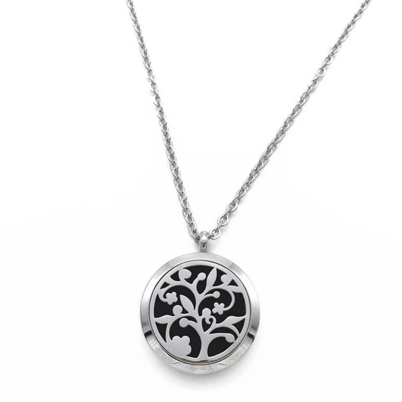 Total senses jewelry tree of live aromatherapy pendant necklace m5b031e27f9e501456d7accd0 aloadofball Images